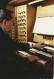 Jacques Berthier à l'orgue de Saint Ignace, 1994
