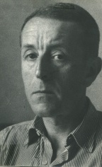 Portrait de Pierre Brochet, 1965, rue de Tournon, Paris